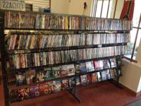 DVD's $1.50 or 4 for $5 CD's $1.00  VINYL's $1.00 PS2