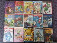 "Dvd""s for kids ages 2 to 10 years all are in decent"
