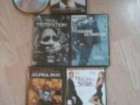 I HAVE THESE DVDS IN ORIGINAL CASES ASKING 2.00 A PEICE