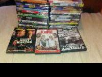 I have 30 plus DVDs in there original cases and would