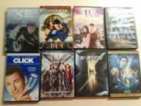 i have movies i selling x men x men the last stand x