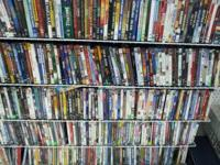 I have around 2,000 dvds for sale and hundreds of
