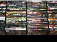 We have 92 movies in different genres to sell; horror,