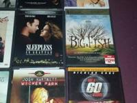 Hi I have a lot of dvd movies great condition. i want