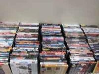 Lots of DVDs only $2 EACH!! Each DVD is guaranteed to
