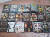 DVDs for sale all $2 unless otherwise noted...all in