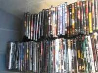 Over 150 DVDs new movies and music for sale only