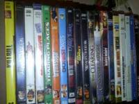 Hi I have for sale 20 dvd movies. Would like to sell