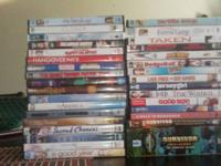 I have actually over 30 used dvds in original product