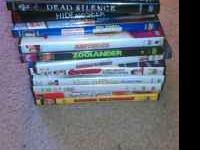 I'm moving and selling my DVDs. The following titles