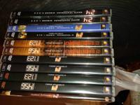 We are selling the following DVDs, all in great