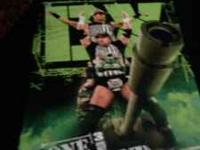 WWE DX ONE LAST STAND 3 DISC SET-$15 HALL PASS -$ 10