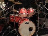 DW Collector Series Drums( 5 pc.) 8x10, 10x12 mount