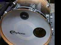 I have a DW drum kit that's all exotic birch. I will