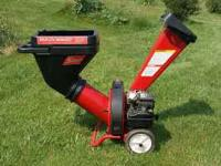 Dynamark Mulch Maker. This Chipper/Shredder is great