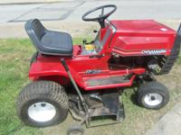 24Dynamark riding mower $350.00 e-mail or call  //