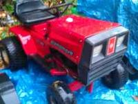 I HAVE AN OLDER DYNAMARK 11/36 RIDING LAWN MOWER FOR