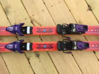 Dynastar 165cm Downhill Skis With Look Bindings. Only