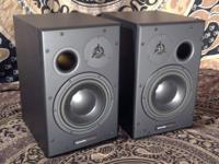 For sale:   One pair of Dynaudio BM15A active studio