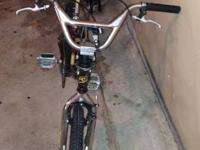 I have a BMX dyno bike for sale. The bike is in good