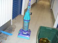 Used purple and light blue dyson root 8cyclone vacuum.