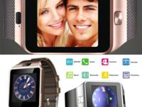 Smart Phone Watch model DZ09. It is GSM Smart Watch.