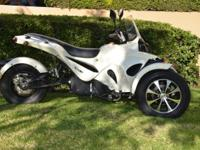 Brand new 3 Wheel Trike Motorcycle 5000 watt 70 Miles