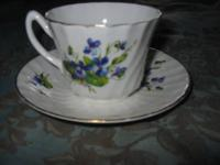Mixed China: 1 cup n saucerRoyal KendalStaffordshire
