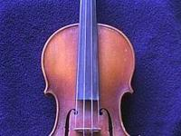 Have a Stradivarius violin copy built by E. R.