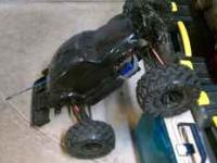 I have an adult owned Traxxas E-Revo 1/10th scale (big