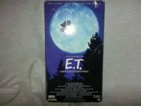 Today we have for you a E.T. The Extra-Terrestrial VHS