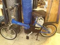 For sale are two gently used E-TON Electric Bikes,