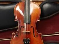 German viola made in Germany by E.R. Pfreschner,