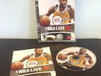 EA Sports NBA Live 08 (Sony Playstation 3, 2007) PS3