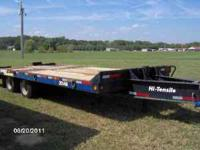 H/D Eager Beaver trailer, tires great, air breaks, 8ft.
