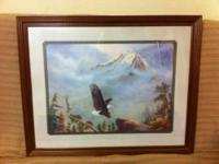 Picture & large eagle by Home Interior & Gifts. Picture
