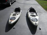 These Kayak's were purchased Dicks Sporting Goods 18