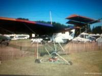 Eagle weight shift ultralight in very good shape. Needs