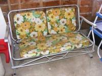 i have for sale a eames era aluminum sofa glider in