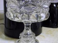 Stemmed compote used for serving fruits, nuts, candies,