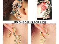 . Ear Cuffs - Earrings -Ear Wraps And More. That's