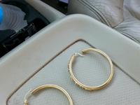 I have two pair of golden ear Ring's for sale they