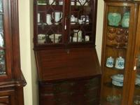 This is a Gorgeous Early 1900's Antique Secretary Desk