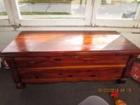 Good Acme RED Tennessee cedar chest, it was made by