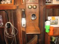 EARLY 1900'S WALL PHONE STROMBERG-CARLSON WITH