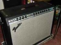 I HAVE A VINTAGE, EARLY 70'S FENDER TWIN REVERB GUITAR
