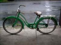 50's Circa Columbia Ladies Bicycle. Nice condition