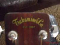 I have a Early 70s Takamine Acoustic Guitar made in