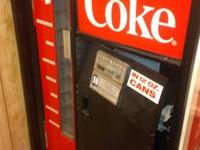 Up for sale is a 1USS-84101 Coke Machine. Functions