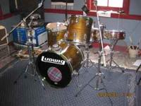 Early 80's Vintage 4 piece Ludwig Superclassic drumset
